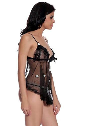 Hugged Fit Babydoll With Removable Cookie
